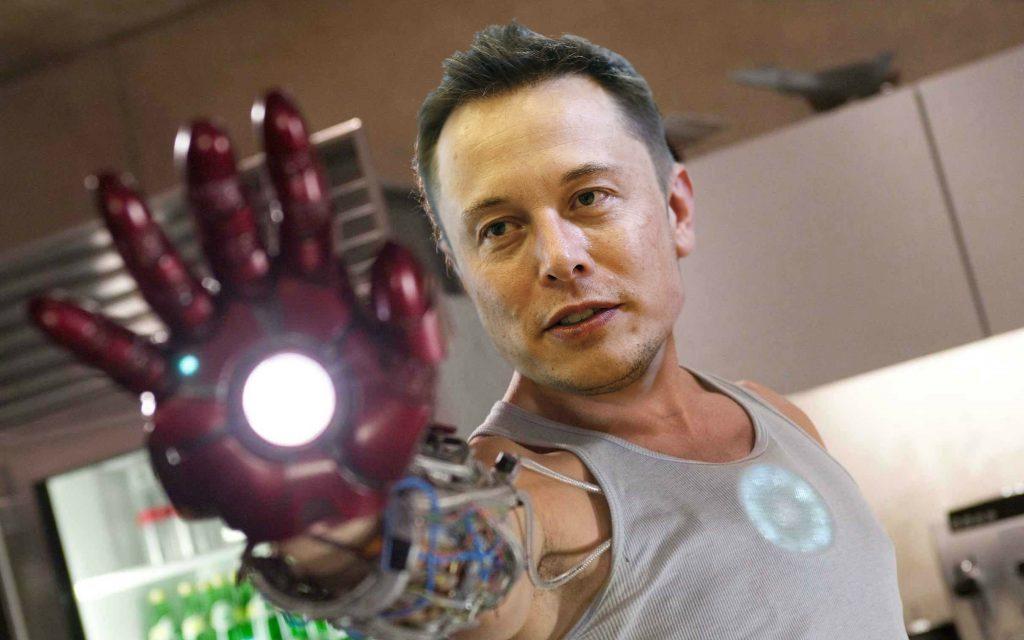 Oké, toch een fotosoep met Musk als Iron Man