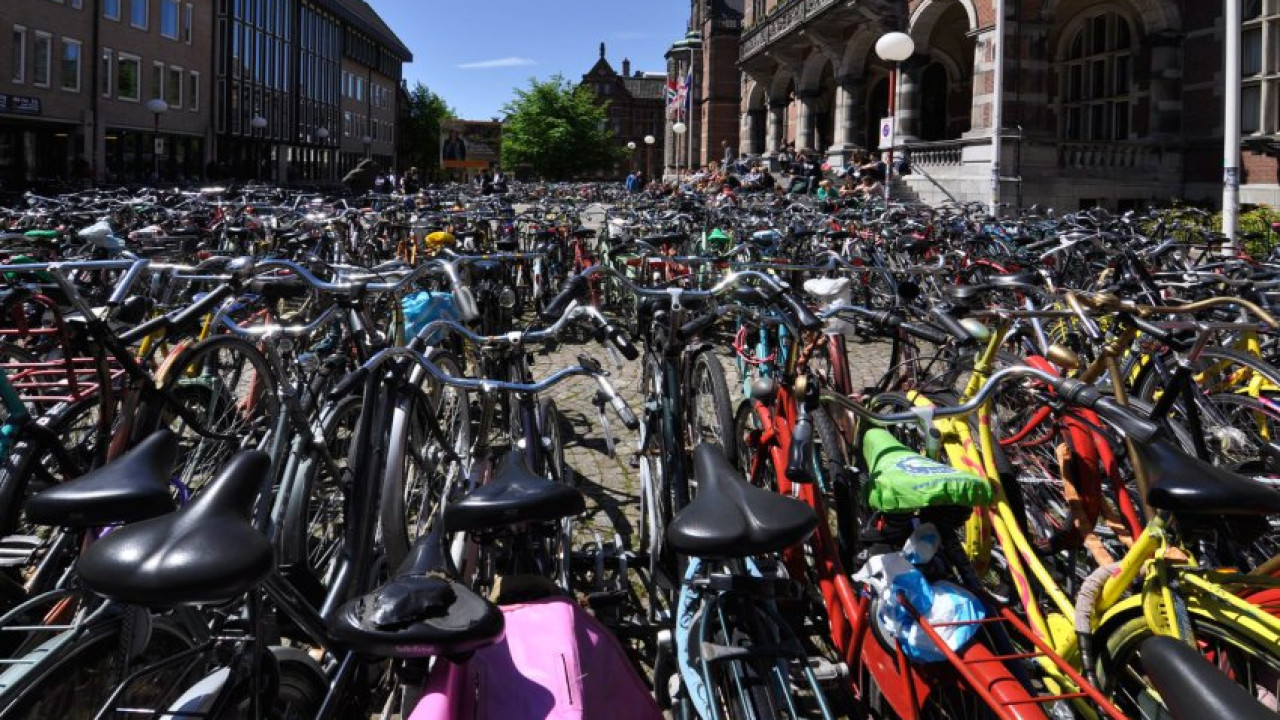 Groningen bicycle capital of the world