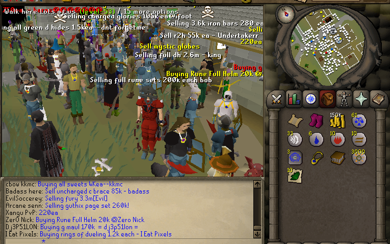 the economy of OSRS
