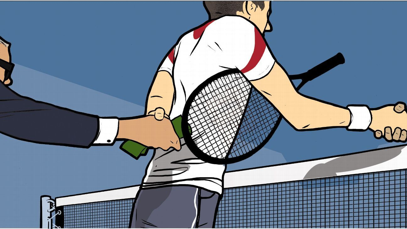 The dark side of the tennis world